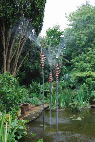 'Bulrushes' Water feature.