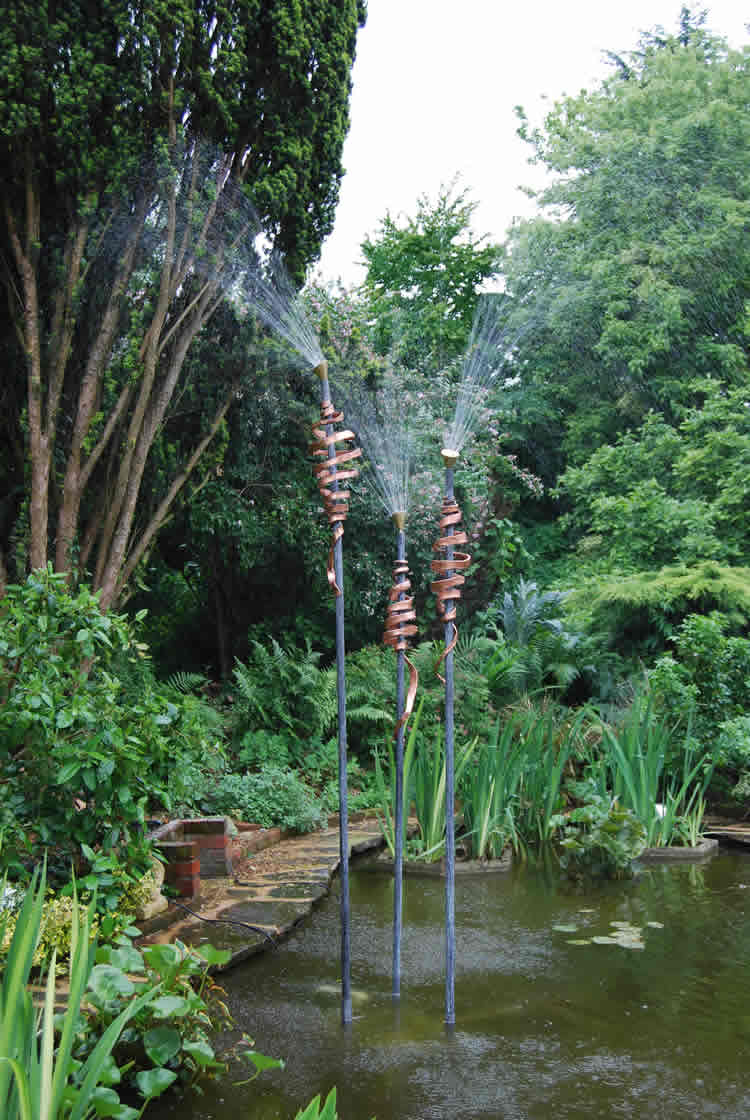 Bulrushes Water feature