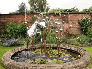 Ginko Water feature