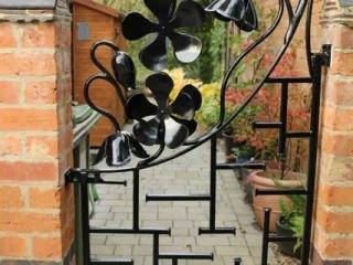 'Oriental gate' Garden gate