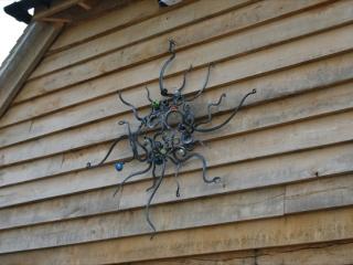 'Medusa'. External/Interior wall hanging sculpture