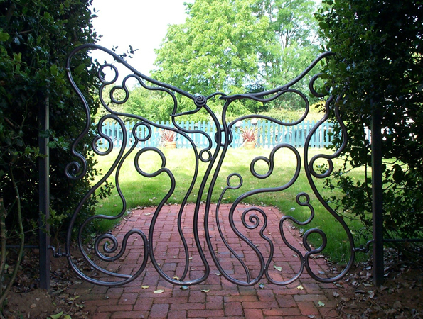 'Butterfly Gates' Garden furniture